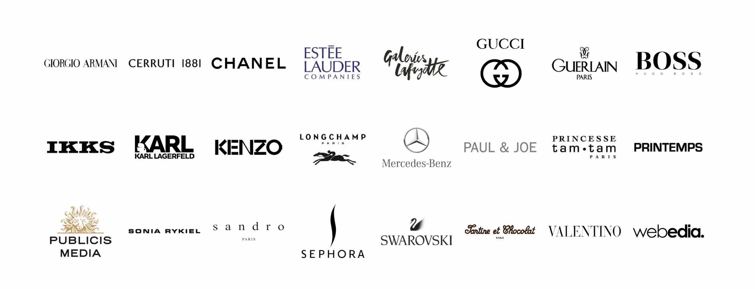 entreprises partenaires esg luxe